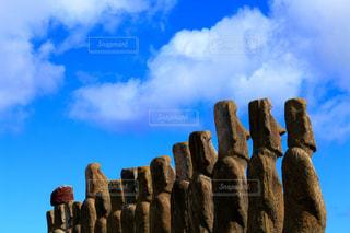 イースター島の写真・画像素材[1196413]