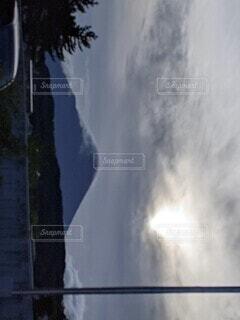 幻想的な富士山の写真・画像素材[4876175]