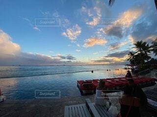 ハワイの空の写真・画像素材[4873774]
