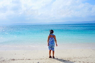 青い海の写真・画像素材[4863331]