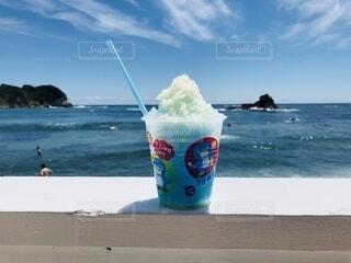 暑い日はかき氷の写真・画像素材[4869398]