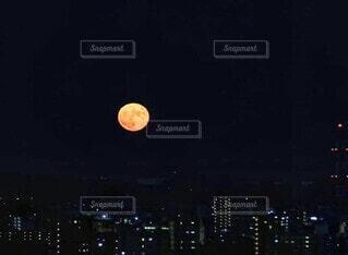 自然,風景,空,夜,月,高層ビル