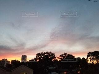 夕空の写真・画像素材[4863901]