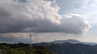 空の雲の群の写真・画像素材[4867290]