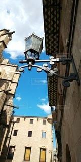 スペインの旧市街の路地の写真・画像素材[4884117]