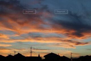 夕焼けの写真・画像素材[4885349]