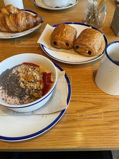 優雅な朝食の写真・画像素材[4865439]