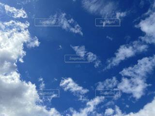 秋の空の写真・画像素材[4865396]