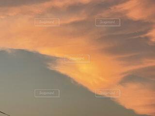 空の雲の写真・画像素材[4875952]