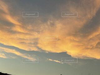 空の雲の群の写真・画像素材[4875953]