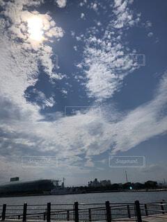 大きな水域の写真・画像素材[4879430]