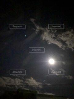 自然,風景,空,夜空,屋外,月,中秋の名月