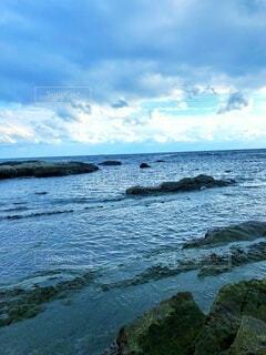 冬の海の写真・画像素材[4922979]