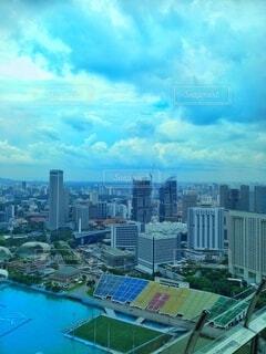 シンガポールの街並みの写真・画像素材[4923053]