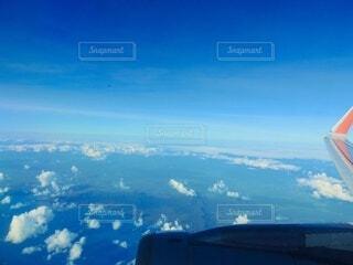 飛行機からの世界の写真・画像素材[4871420]