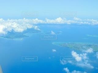 飛行機からの眺めの写真・画像素材[4871422]