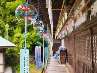 風鈴 夏の風物詩の写真・画像素材[4875044]