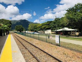 オーストラリア 線路の写真・画像素材[4875662]