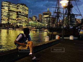 オーストラリアの夜景の写真・画像素材[4878311]