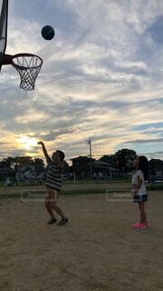 バスケットボールの写真・画像素材[4874142]