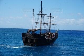 美しい海賊船の写真・画像素材[4868739]