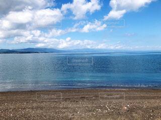 青空と海の写真・画像素材[4868751]