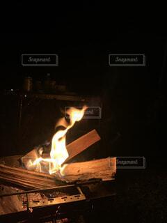 キャンプの時間の写真・画像素材[4876460]