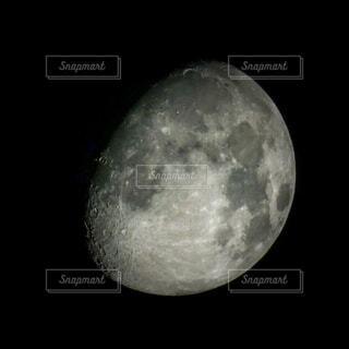 自然,風景,空,黒,暗い,月,半月,クレーター,天文学