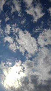 青空の雲の写真・画像素材[4918648]