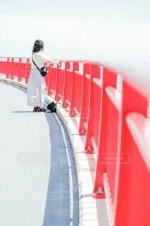 橋から眺めるの写真・画像素材[4873620]