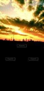 ある日の夕景の写真・画像素材[4874075]