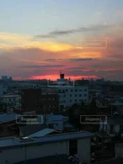 日没の写真・画像素材[4904449]