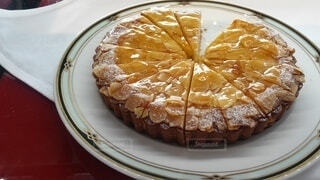 アーモンドケーキの写真・画像素材[4942467]