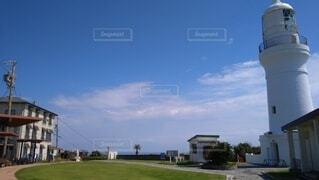 風景,空,屋外,青空,灯台,静岡,御前崎,静岡県,御前崎灯台
