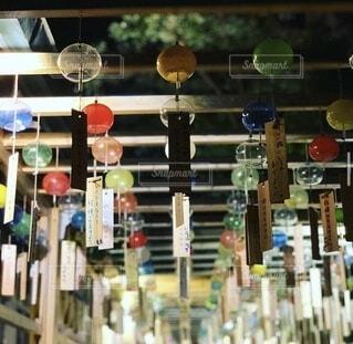 夏,神社,風鈴