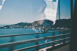 橋,島,車,船,水面