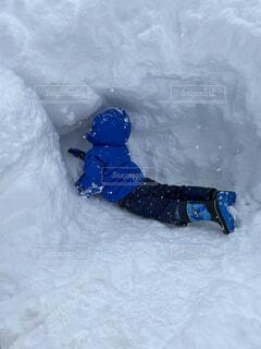 雪,屋外,スキー