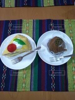 食べ物,食事,フード,デザート,フォーク,果物,スプーン,皿,食器,菓子,調理器具,大皿,飲食