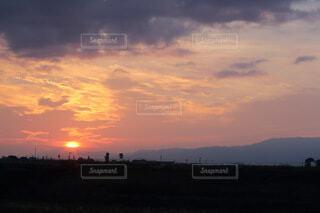 自然,風景,空,屋外,太陽,雲,夕暮れ,くもり