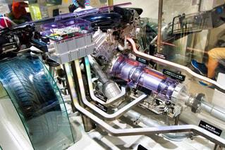 屋内,車,エンジン,機械,科学,マシン,サイエンス,科学技術館,工学,自動車部品