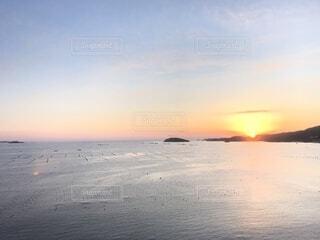 自然,風景,空,屋外,湖,太陽,朝日,ビーチ,雲,夕暮れ,水面,海岸,水平線,朝焼け,日の出,東北