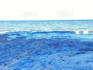 自然,海,屋外,ビーチ,青,幻想的,水面,海岸,紺碧