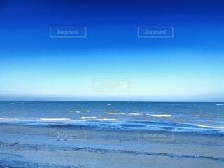 自然,海,空,屋外,砂,ビーチ,青,水面,海岸
