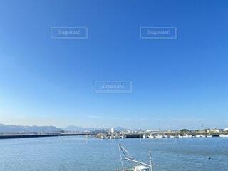 空,屋外,ビーチ,雲,ボート,青,船,水面,海岸,港,水上バイク
