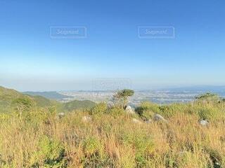 自然,風景,空,秋,屋外,緑,山,景色,草,大地,高原