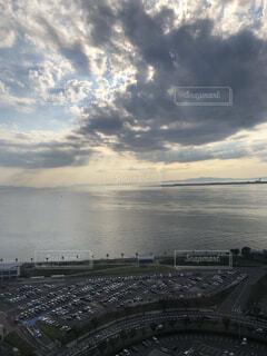 自然,風景,海,空,屋外,湖,ビーチ,雲,駐車場,水面,眺め