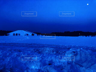 自然,風景,空,雪,屋外