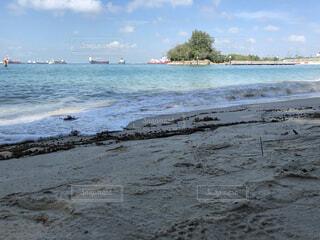自然,空,屋外,湖,ビーチ,船,水面,海岸