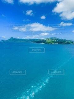 自然,海,空,屋外,湖,ビーチ,雲,青,水面,山