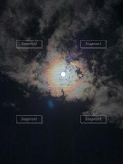 自然,風景,空,雲,天体,虹,暗い,星,月,景観,スクリーン ショット